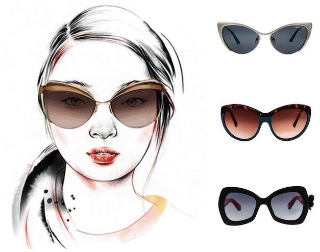 очки для женского круглого лица