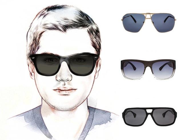 очки для мужского круглого лица