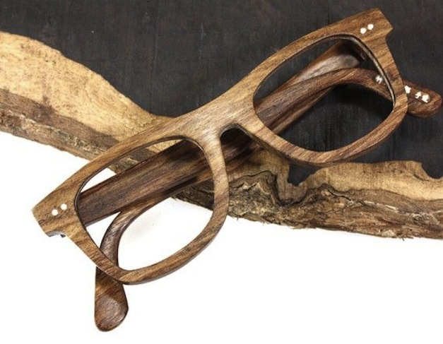 wood optic frame